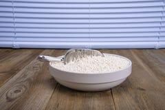Un bol de tapioca de perle photographie stock