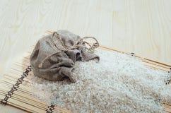 Un bolso del splfetke de la paja del arroz Fotografía de archivo libre de regalías