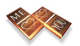 Un bon nombre d'amour Image libre de droits