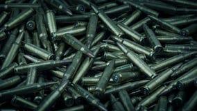 Un bon nombre de balles tournant le tir banque de vidéos