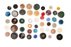 Un bon nombre de boutons Photo libre de droits