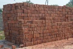 Un bon nombre de briques Photographie stock
