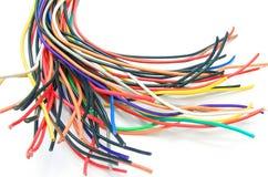 Un bon nombre de câbles Images stock