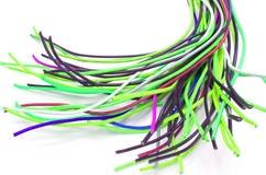 Un bon nombre de câbles Photographie stock