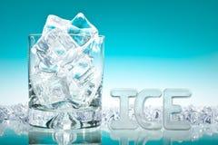 Un bon nombre de glace Photographie stock libre de droits