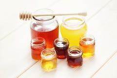 Un bon nombre de miel photos stock