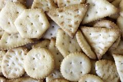 Un bon nombre de mini backround de biscuits photos stock