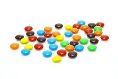 Un bon nombre de sucreries colorées Image stock