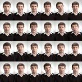Un bon nombre de visages Photos libres de droits