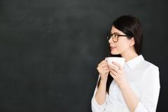Un bon professeur doit connaître les règles, un bon élève image stock