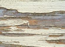 Un bordo sporco del legname con la pittura della sbucciatura fotografia stock libera da diritti