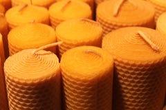 Un boundle delle candele Fotografia Stock