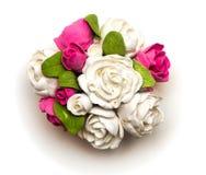 Un bouquet des fleurs de l'argile Image stock