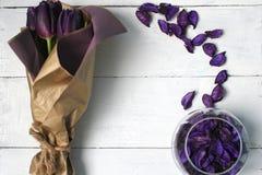 Un bouquet des tulipes Photos stock