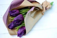 Un bouquet des tulipes Photos libres de droits