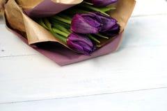 Un bouquet des tulipes Photographie stock libre de droits