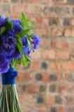 Un bouquet nuptiale pourpré Photos libres de droits