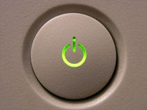Un bouton photo stock