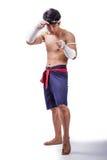 Un boxeador tailandés Imágenes de archivo libres de regalías