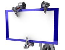 Un braccio delle 3 barrette, grande segno Fotografie Stock Libere da Diritti