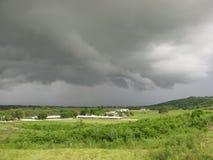 Un brassage de tempêtes Images stock