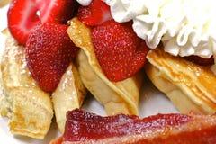 Un breakf délicieux et sain Images libres de droits