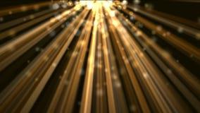 Un brillo ligero abajo con las estrellas del centelleo libre illustration