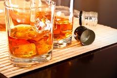 Un buen whisky Imagen de archivo libre de regalías