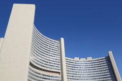 UN building of United Nations Royalty Free Stock Photos