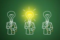 Un buon business intelligence. Fotografia Stock