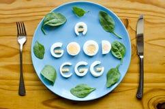 Un buon uovo Fotografia Stock
