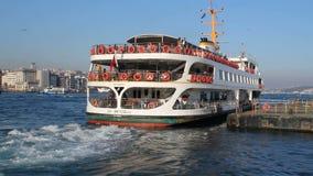Un buque de pasajeros en Bosphorus