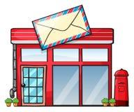 Un bureau de poste Image libre de droits