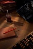 Un bureau des auteurs. Photographie stock