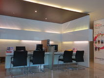 Un bureau moderne dans Serpong Images stock