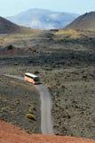 Un bus di Lanzarote Fotografie Stock