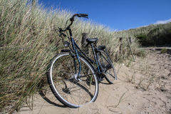 Un bycycle en Hollandes Images stock