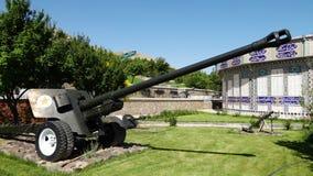 Un cañón en la exhibición metrajes