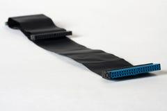 Un cable viejo del IDE fotografía de archivo