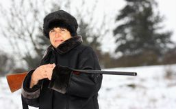 Un cacciatore Fotografia Stock
