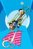 Un cadeau d'enfance images libres de droits