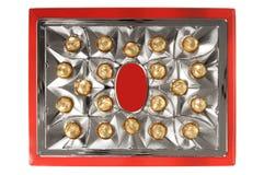 Un cadre de chocolats de luxe Image libre de droits