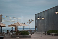Un café extérieur images libres de droits