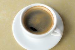 Un café recientemente preparado Fotos de archivo