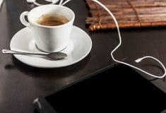 Un café virtuel photographie stock libre de droits