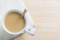 Un caffè di rilassamento di pomeriggio Fotografia Stock