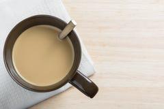 Un caffè di rilassamento di pomeriggio Fotografia Stock Libera da Diritti