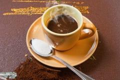 Tazza di s del caffè ' Fotografie Stock