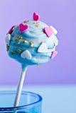 Un cakepop décoratif image stock