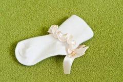 Un calcetín de los niños Fotografía de archivo libre de regalías